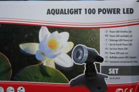 Gartenstrahler Aqualight 100 Power LED Komplett Set